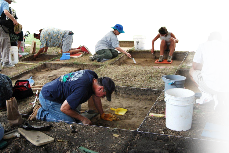 archeology dig in virginia